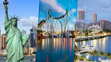 Nova York, Orlando & Miami